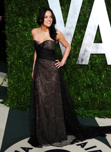 Michelle - arrives at the 2012 Vanity Fair Oscar Party, February 26, 2012