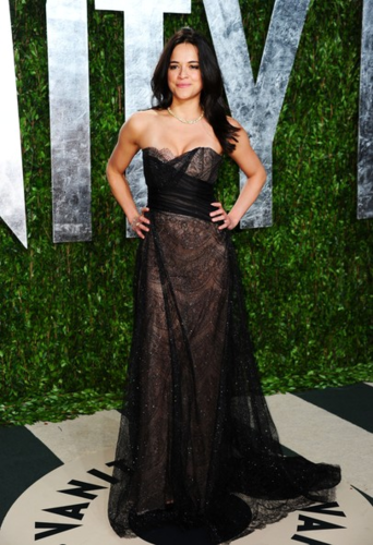 Michelle - arrives at the 2012 Vanity Fair Oscar Party, February 26, 2012 - michelle-rodriguez Photo