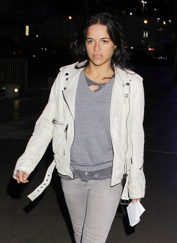 Michelle - at Staples Center, January 16, 2012