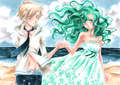 Michiru and Haruka - sailor-uranus-and-sailor-neptune fan art