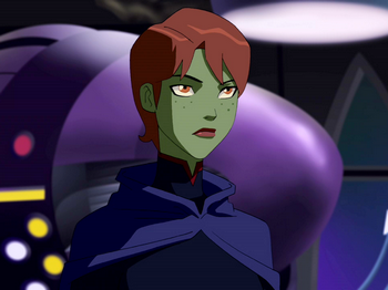 Teen Titans vs. Young Justice দেওয়ালপত্র titled Miss Martian