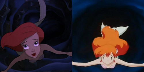 Misty Imitating Ariel 1