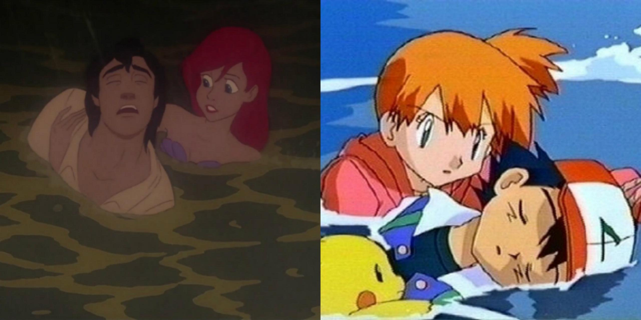 Misty Imitating Ariel 2
