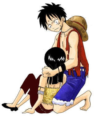 plus Luffy Robin