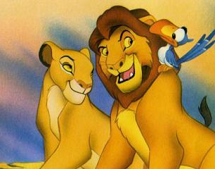 Mufasa & Sarabi