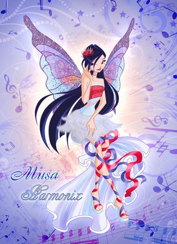 "The Winx Club wallpaper entitled Musa ""Harmonix"""