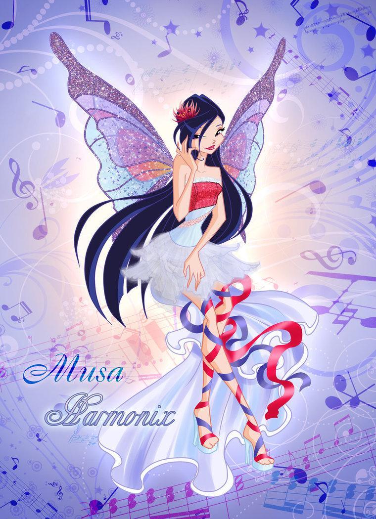 """Musa """"Harmonix"""" - The Winx Club Fan Art (31050880) - Fanpop"""