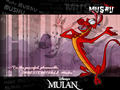 Mushu background - mulan fan art