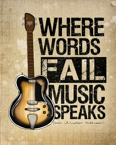 Music Speaks - music Photo