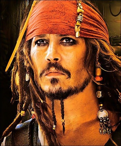 Pirates of the Caribbean wallpaper entitled My Captain...<3
