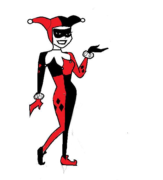 My Computer Drawing: Harley Quinn ♥