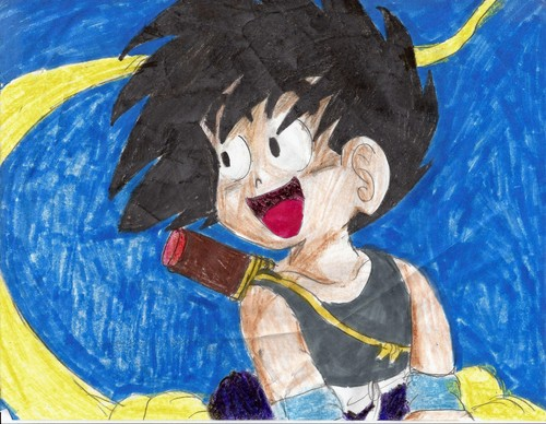 My Dragon Ball Drawings 8)