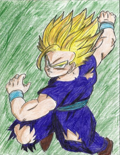 My Dragon Ball Drawings 8)
