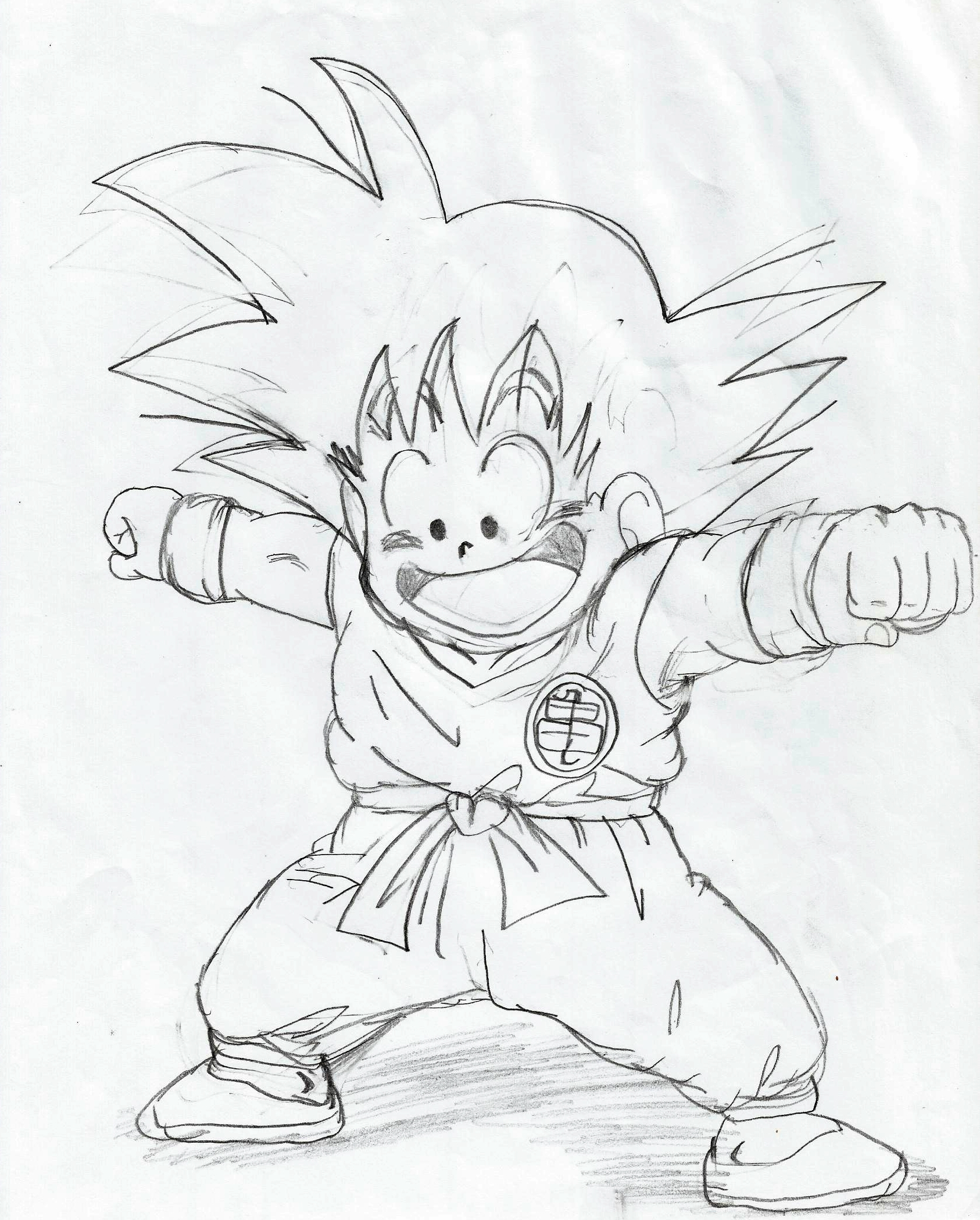 My dragon ball drawings 8
