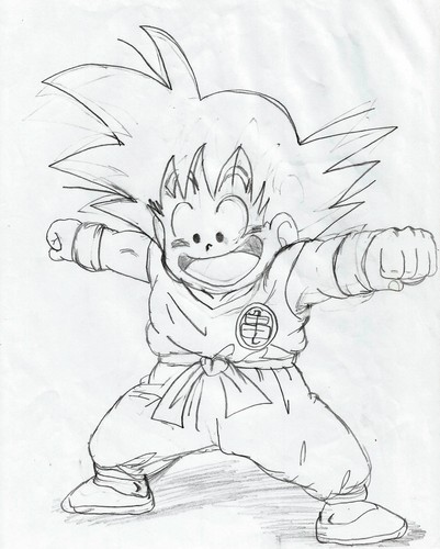 dragon ball z wallpaper called My Dragon Ball Drawings 8)