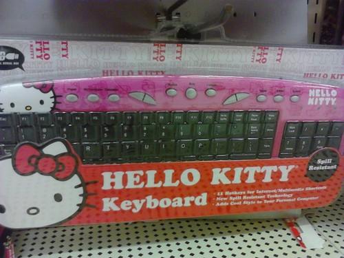 My Hello Kitty Keyboard Hello Kitty Foto 31073297 Fanpop