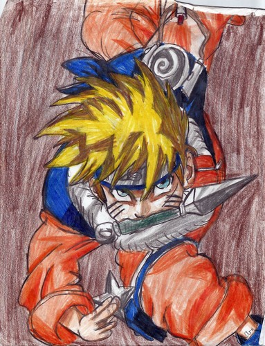 My Naruto Drawings! 8)