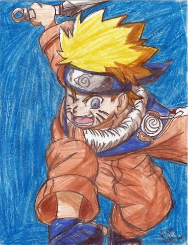 My Наруто Drawings! 8)