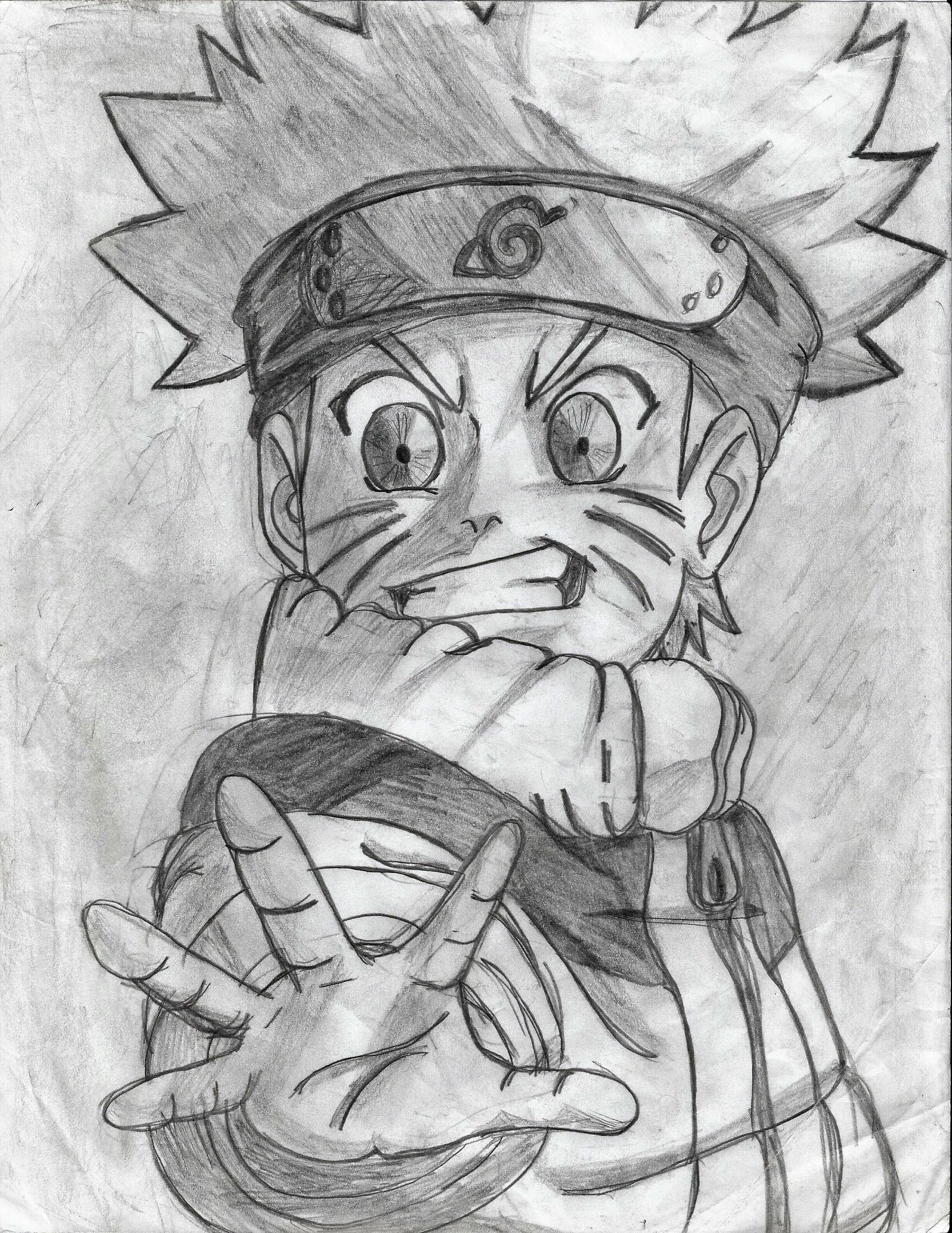 Naruto wallpaper entitled my naruto drawings 8