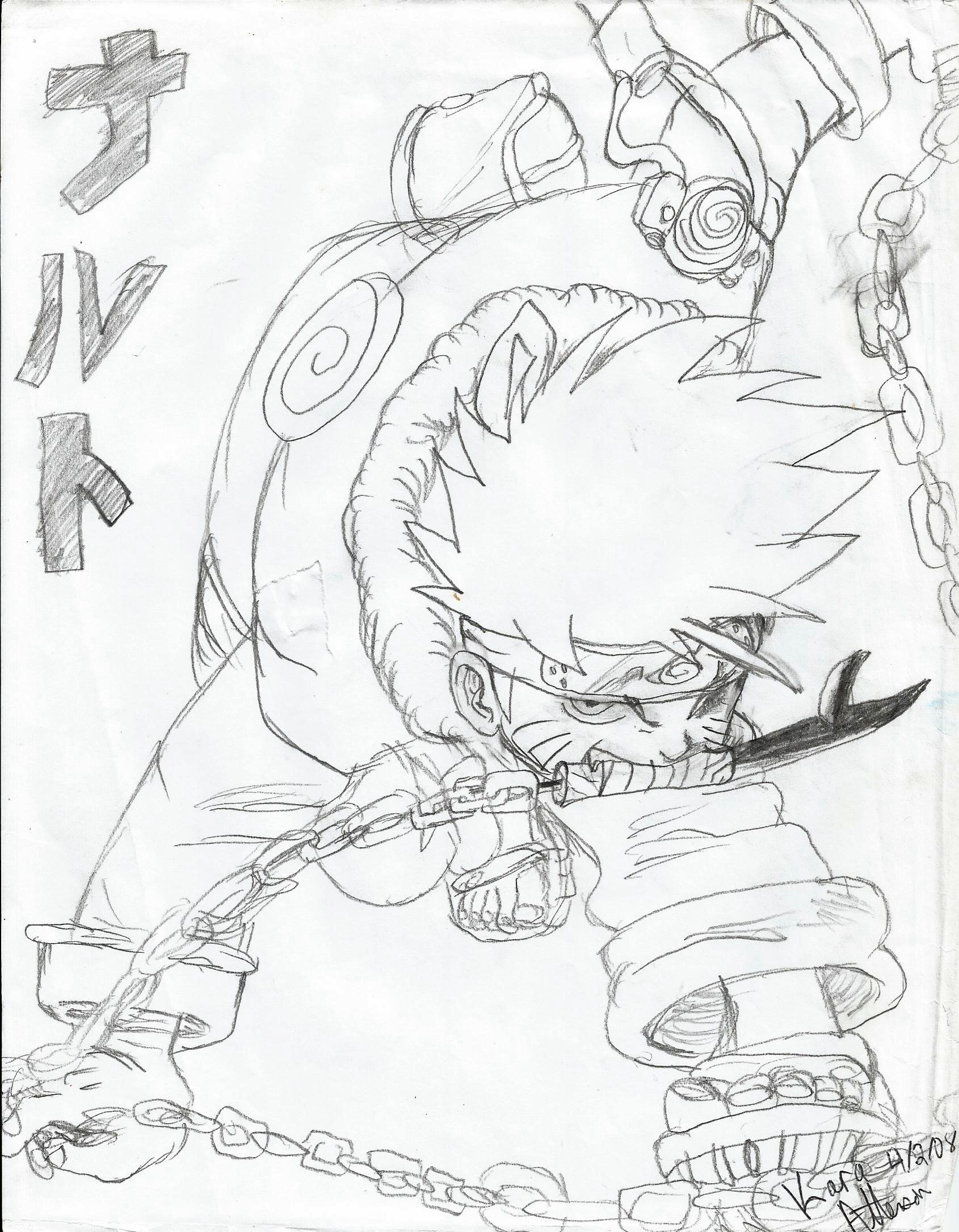 My Naruto Drawings 8 Naruto Fan Art 31056857 Fanpop
