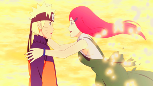 Kushina Uzumaki wallpaper possibly with anime called Naruto and Kushina