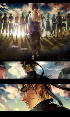 Naruto`s the only one looking back now