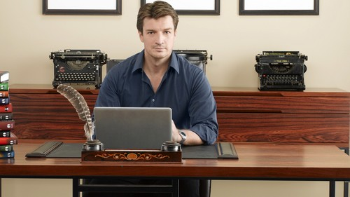 Nathan Fillion fond d'écran containing a laptop titled Nathan as Richard château