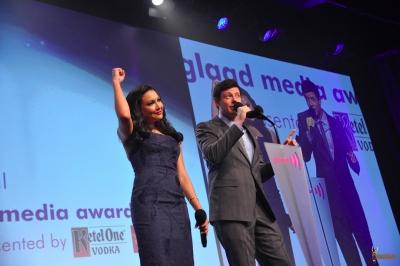 Naya @ the 2012 GLAAD Media Awards