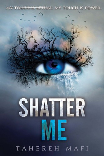 New Shatter Me Book cover