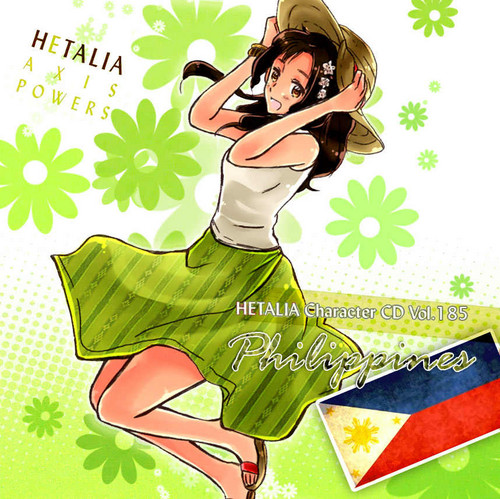 hetalia fondo de pantalla containing anime titled New character: Philippines in her character cd