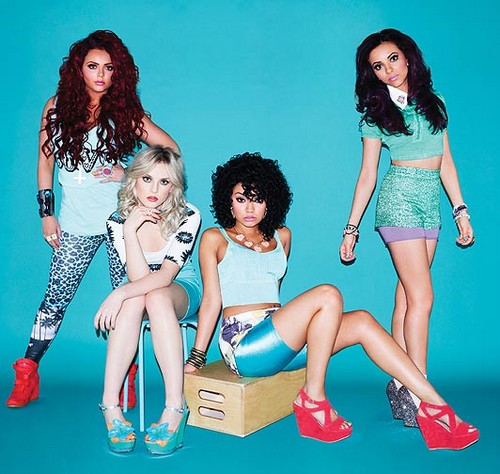 "New photoshoot for their first single: ""Wings""."