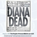 Newspapers responding to Princess Dianas death