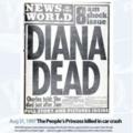 Newspapers responding to Princess Dianas death
