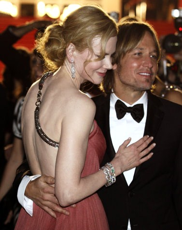 Nicole and Keith in Cannes