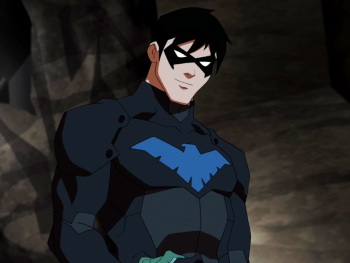 Teen Titans vs. Young Justice দেওয়ালপত্র entitled Nightwing