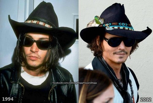 OMG!!! 18 years difference and Johnny is still so sexy♥♥♥