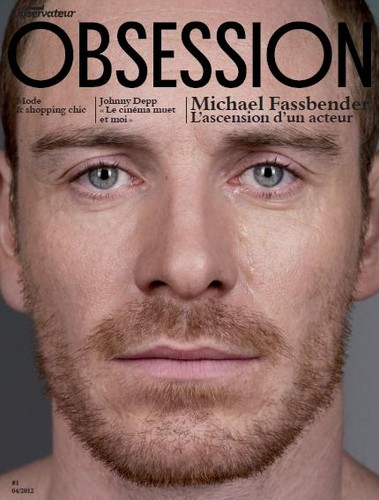 Michael Fassbender wallpaper probably with a portrait called Obsession magazine march 2012