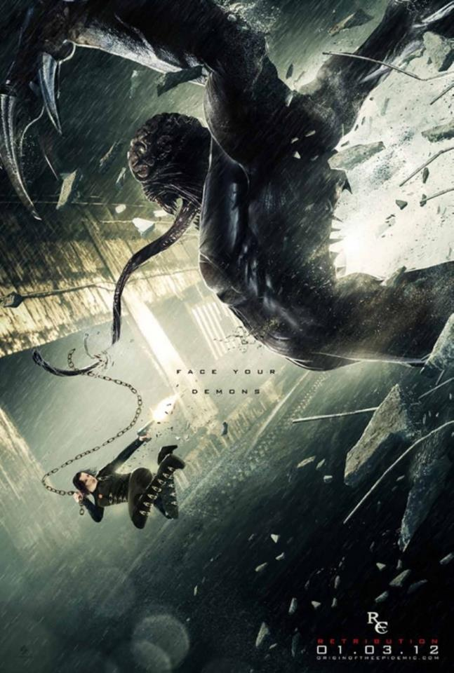 Official Resident Evil Retribution Poster Resident Evil Photo