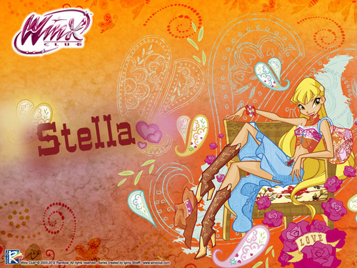 Official wallpaper 2012 Stella Winx cowgirl - the-winx-club Wallpaper