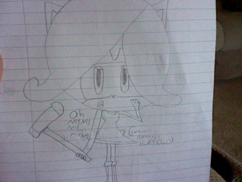 Oh my my my...~ J'amy O__O Someone gonna get HURT. - sonic-fan-characters Photo