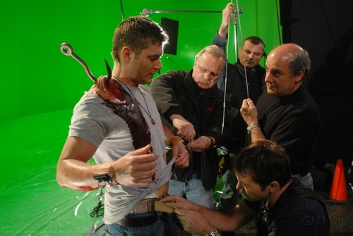 On The Set Of No Rest For The Wicked