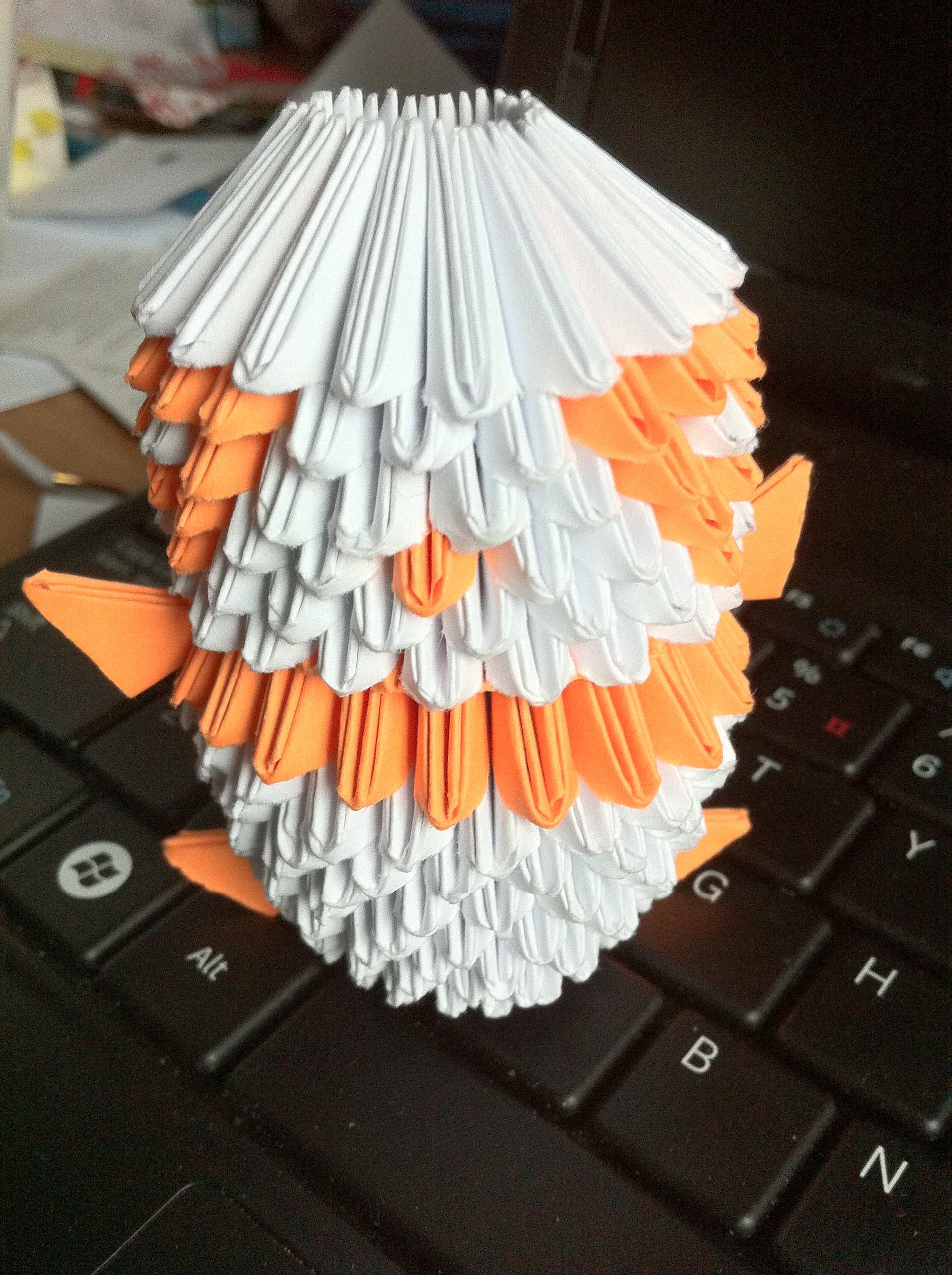 オレンジ Origami Panda
