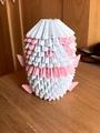 Pink Origami Panda