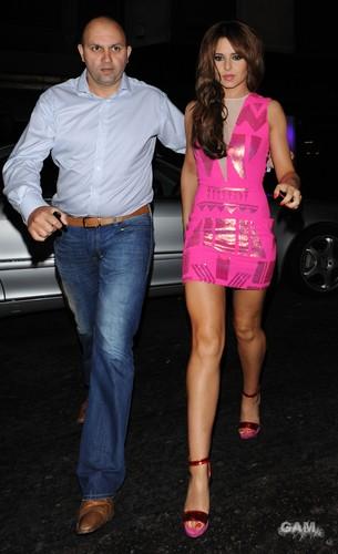 Outside The Mahiki Nightclub In Londres [2 June 2012]