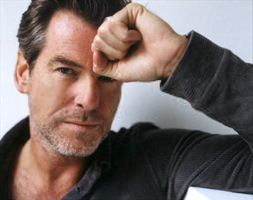 PIERCE BROSNAN THINKING