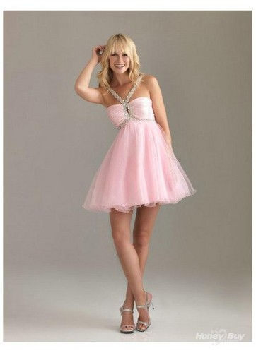 PINK PROM DRESS :P - teen-fashion Photo