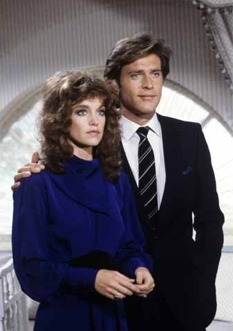 Pamela Sue Martin and John James