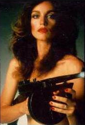 Pamela with a Gun