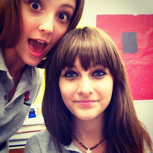Paris new with her friend  - paris-jackson Photo