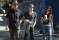 Paul  and Torrey , take a stroll together on Friday  in New York City (June 1st , 2012) - paul-wesley-and-torrey-devitto photo